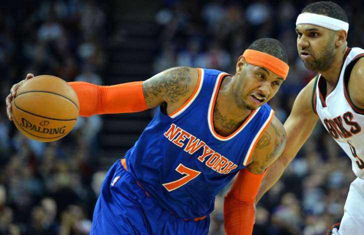 Carmello Anthony, sports