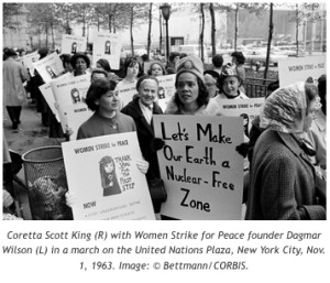 Coretta Scott King, women's strike, opinion