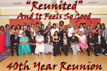 African American graduates celebrate 40th reunion