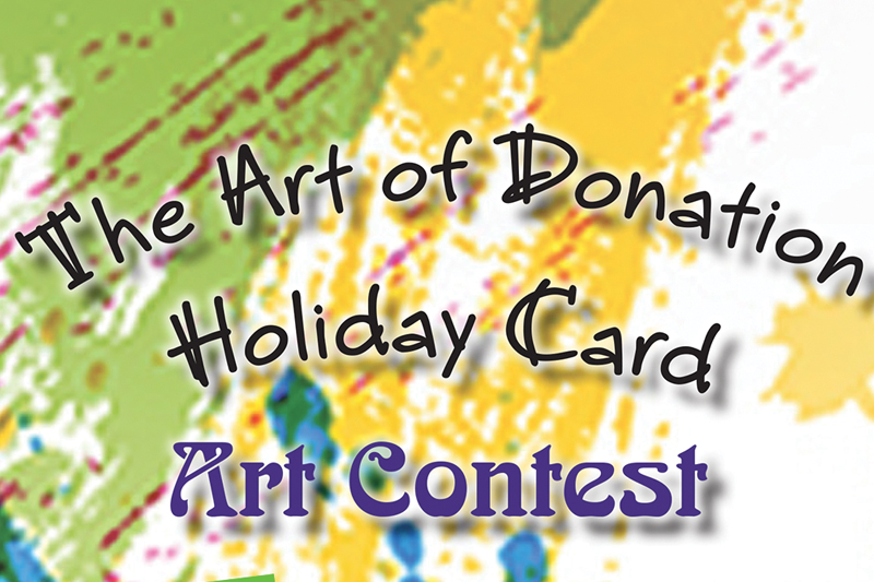 The Art of Donation contest