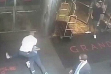 NYPD releases video of tennis star James Blake tackled to the ground by plain clothes cop