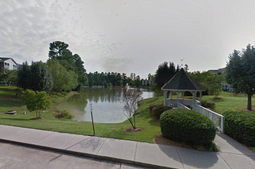 Three-year-old girl dies after she and sister thrown into pond by father trying to drown them