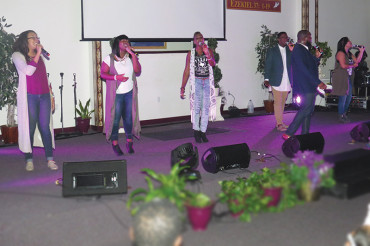 Praise concert lifts spirits