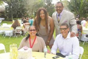 Ligon Family, featured