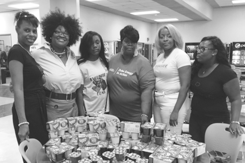 Alpha Kappa Alpha Sorority donates meals to fight childhood hunger