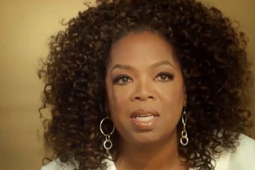 Oprah Winfrey recalls traumatic night she was forced to sleep on porch because she was 'too dark'