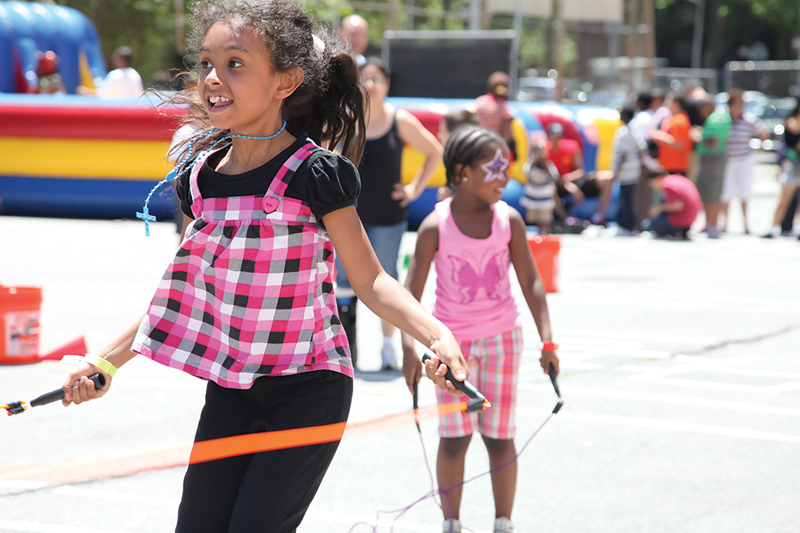 Jump rope workshop this Saturday