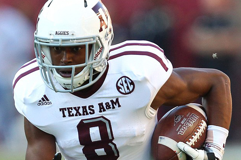 Texas A&M star with a shot at NFL 'hacks jogger to death with machete at random'