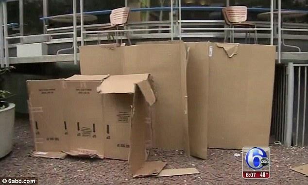 how to make a big cardboard house
