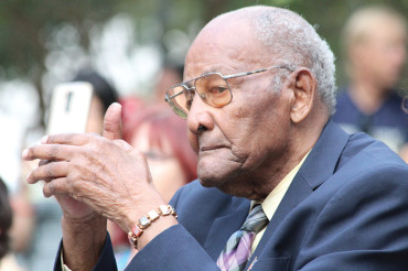 Tuskegee Airman Rogers honored