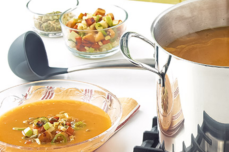 Holiday Soups with Heart