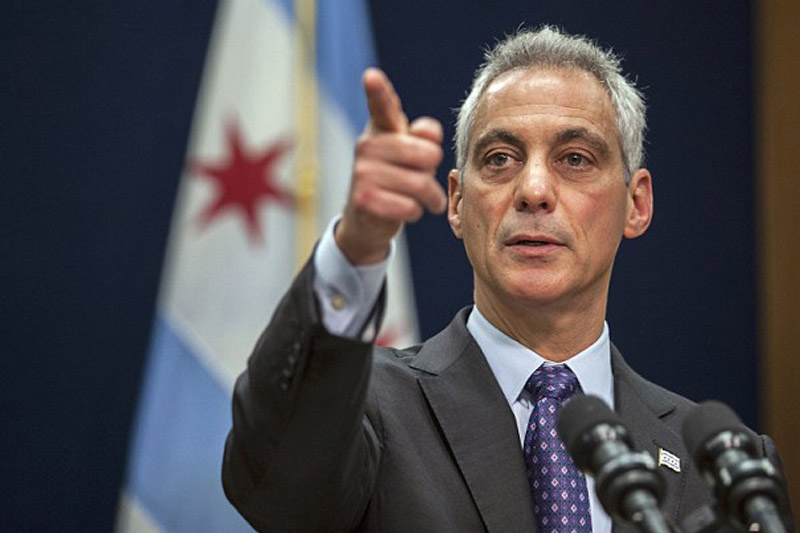 Chicago Mayor fires police chief after footage emerges showing cops at BK terminal