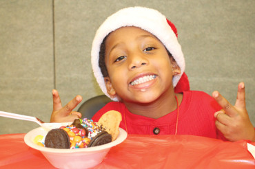 Ice cream social to celebrate the holidays