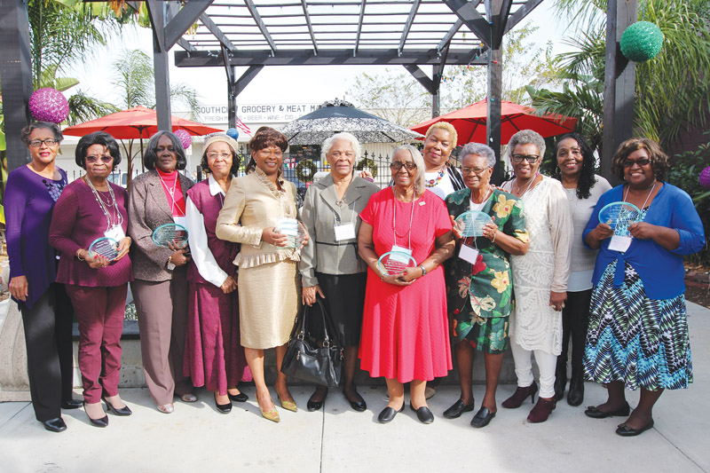 Wives of the Courageous 12 honored