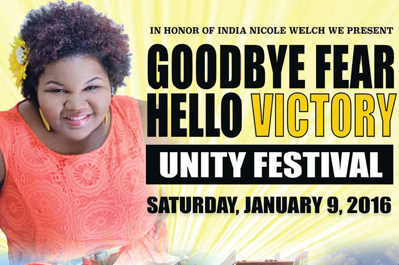 In honor of India Nicole Welch