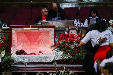 Funeral for Betty Jones, 55-year-old grandmother shot dead by police