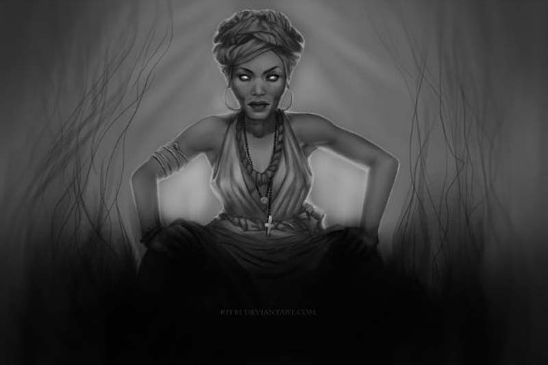 The Black Witches Of Salem