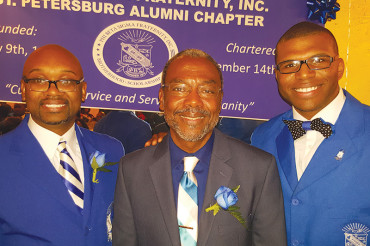 St. Pete Sigmas honors local living legends