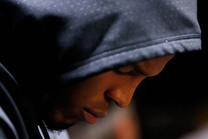 Sore loser? Cam Newton storms out of press conference after losing Super Bowl, tantrums