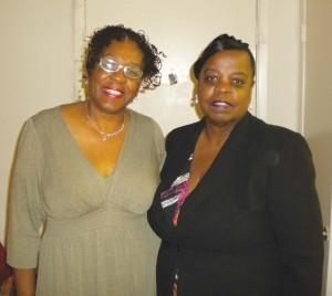 Reverend Paulette White & Stephanie L. White