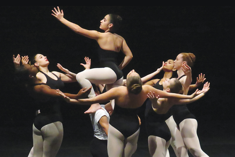 Gibbs ranks superior statewide in dance
