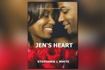 Pick up a copy of romance novel 'Jen's Heart'