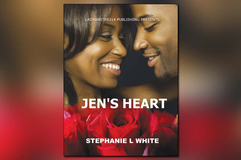 Pick up a copy of romance novel 'Jen's Heart'