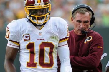 Mike Shanahan apparently thinks RG3 could now be a good NFL quarterback