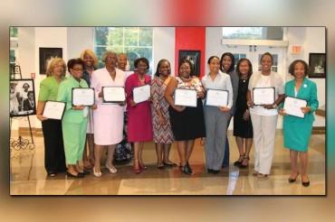 Alpha Kappa Alpha Sorority celebrates women in history