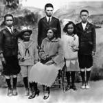 Jackie Robinson, early family, sports