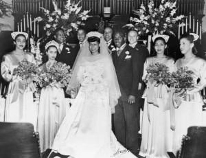 Jackie Robinson, wife, wedding, sports