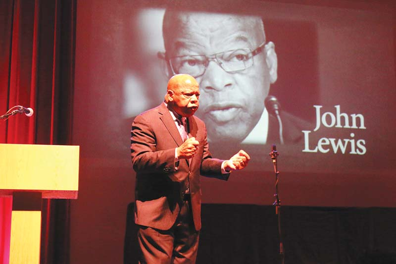 Civil rights legend celebrating 100 years of the pulitzer - John lewis shopkins ...