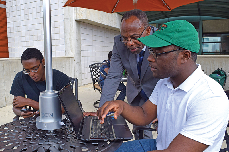Powersol recharging mobility at the FAMU School of the Environment