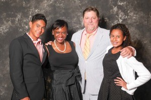 Kai, Kanika, Terry & Olivia Tomalin Family of the Year .