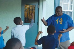 Karate & Ministry, mentoring kids, featured