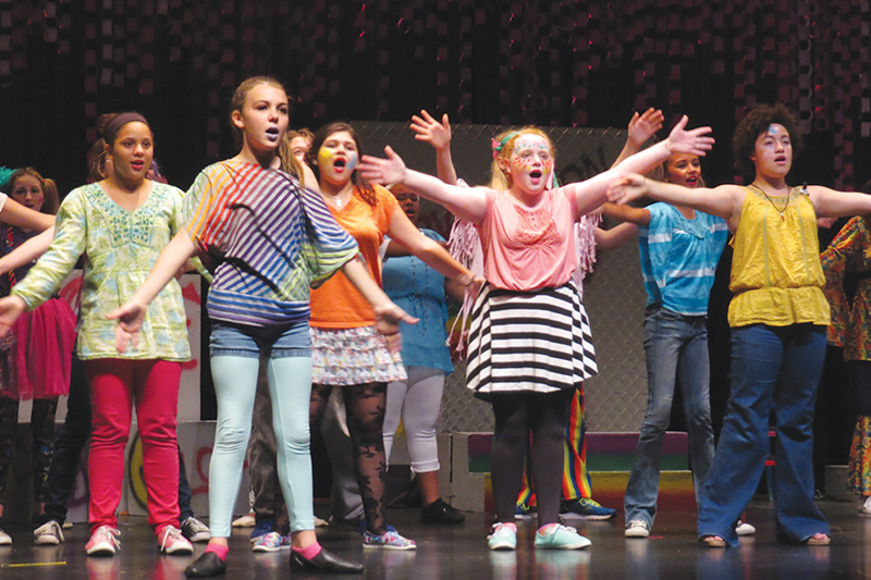 'GodSpell Jr.' raises the roof at JHOP