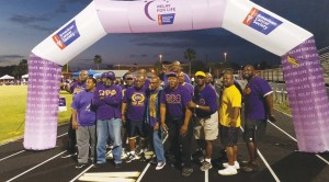 Omegas at Relay for Life, community