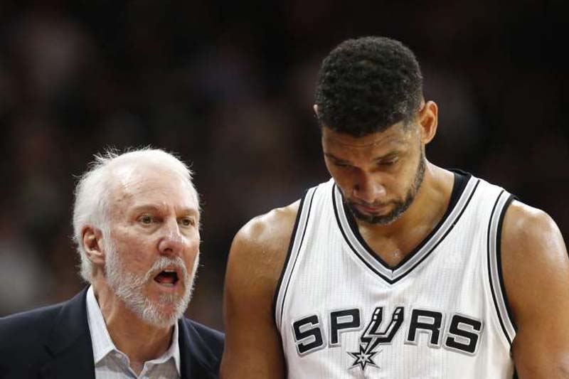 The ageless Tim Duncan has finally aged