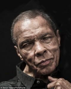 Muhammad Ali, photoshoot, sports, btb