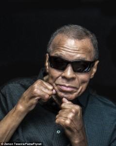 Muhammad Ali sunglasses, photoshoot, sports, btb