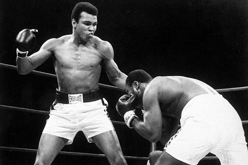 Muhammad Ali Fighting, btb, sports