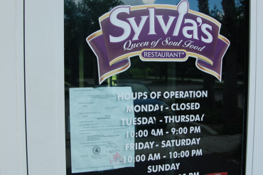 ​ Sylvia's Queen of Soul Food Restaurant closed