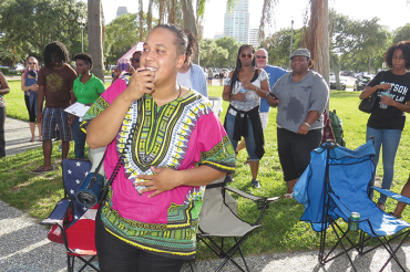 Speak out healing circle launches community dialogue