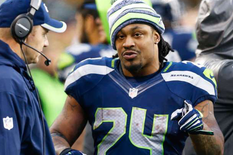 Lynch leaves as big a void in locker room as on field