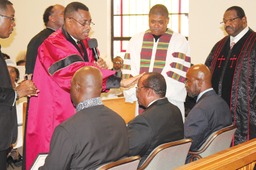 Ordination ceremony draws a huge crowd