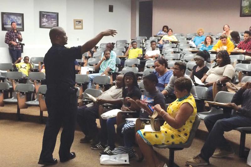 Student Police Cadet Program