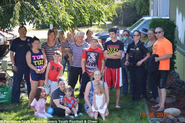 Community rallies around family whose home was attacked with racist graffiti