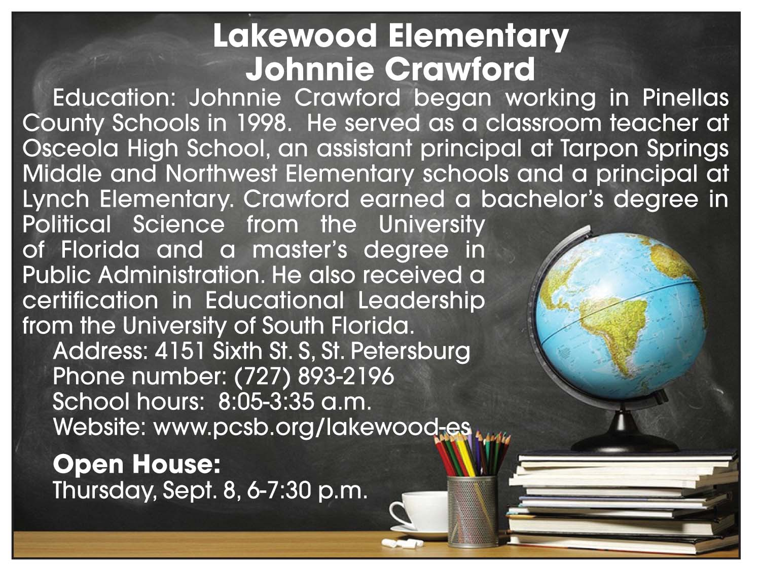 Lakewood Elementary Open House 2016