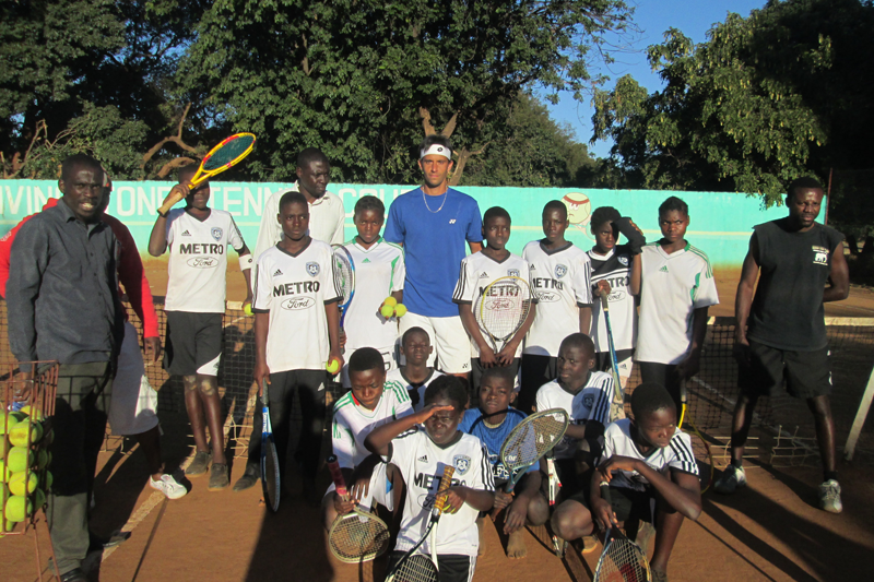 Tampa's Michael-Ray Pallares brings One Love Tennis Inc. to Zambia, Africa