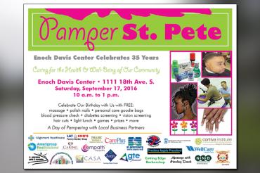 Come celebrate the 35th anniversary of the Enoch Davis Center